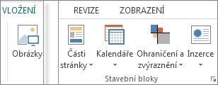 Skupina stavebních bloků