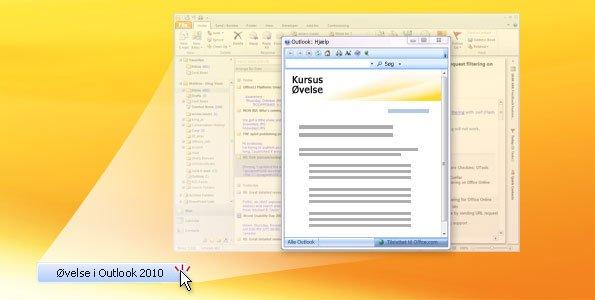 Outlook 2010-øvelse