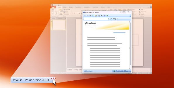 PowerPoint 2010-øvelse