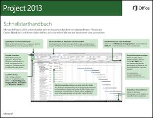 Project 2013 – Schnellstarthandbuch
