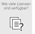 Überprüfen Sie, wie viele Office 365-Lizenzen zurzeit zugewiesen und nicht zugewiesen sind.