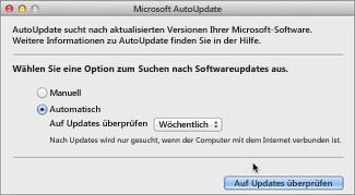 Microsoft AutoUpdate