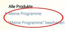 Meine Programme