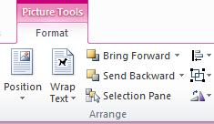 Picture Tools tab