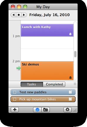 My Day dialog