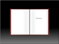Custom animation effects: open book