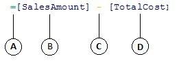 Caclulated column formula