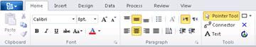 The Ribbon in Visio
