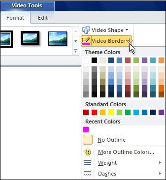 Change the color of a video