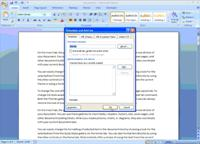 Demo image for opening the Templates and Add-ins dialog box