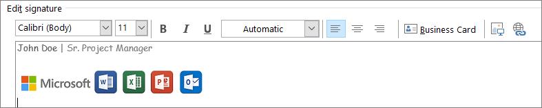 Outlook Edit Signature