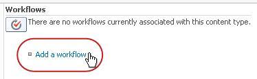 Add a workflow link