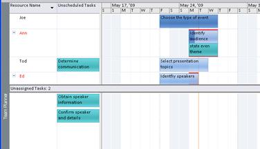 Team Planner view graphic.