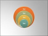 SmartArt custom animation effects: stacked Venn diagram