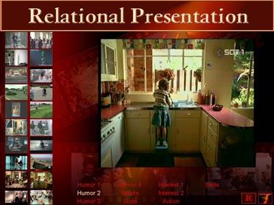 Relational presentation example