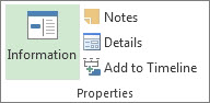 Task Information button image