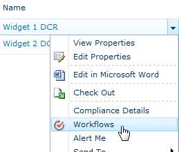Manually Start Workflow