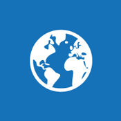 Tile image of a globe to suggest the concept of a Public Website