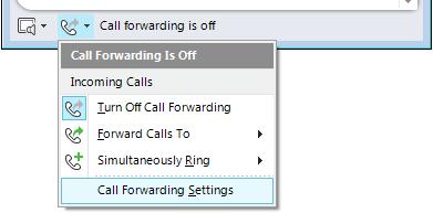 Call Forwarding Settings