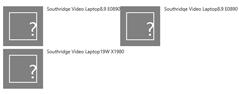 Default display template