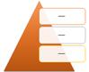 Pyramid List SmartArt graphic layout