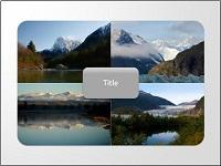 SmartArt custom animation effects: pictures peek-in