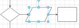 Colocar una forma en un conector para dividir automáticamente el conector para que incluya la forma