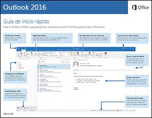 Guía de Inicio rápido Outlook 2016 (Windows)
