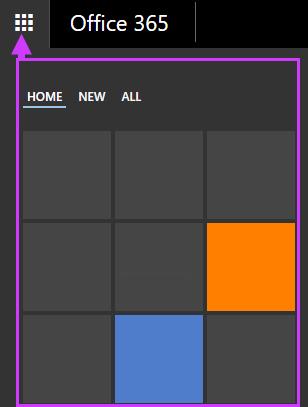 Office 365 navigeerimissuvandid