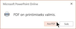 Teie PDF-fail on valmis