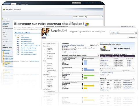 Sites que vous créez avec SharePoint Designer2010