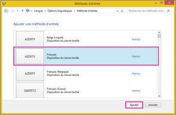 Office2016 - Nouvelle méthode d'entrée dans Windows8