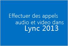 Miniature de la vidéo de cours Effectuer des appels vidéo et audio