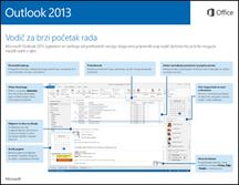 Vodič za brzi početak rada s programom Outlook 2013
