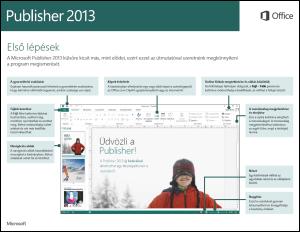 Első lépések a Publisher 2013-ban