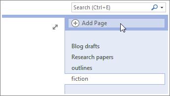 Menambah lebih banyak halaman pada buku nota anda.