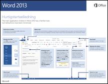 Hurtigstartveiledning for Word 2013