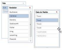Segmentações de dados em camadas