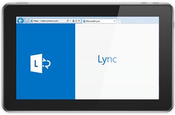 Lync Web App