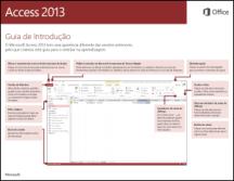 Guia de Introdução do Access 2013