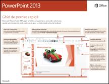 Ghidul de pornire rapidă PowerPoint 2013
