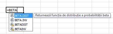 Exemplu completare automată formulă
