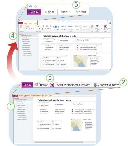 Úvod do aplikácie OneNote Web App
