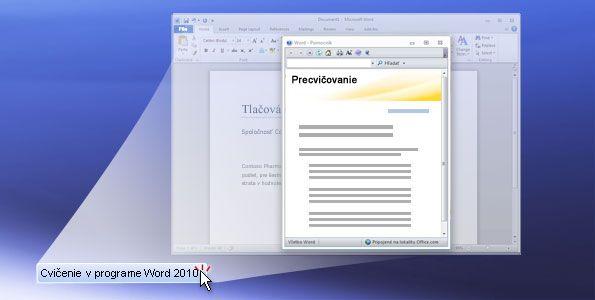 Praktické cvičenie Word 2010
