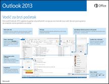 Outlook 2013 vodič za brzi start
