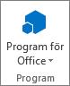 Program för Office-knappen