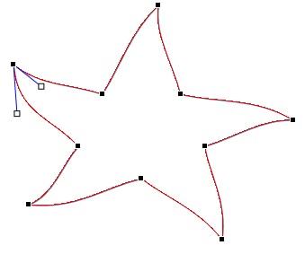 Redigera punkter på en figur