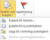 Slutföra dokumentkopplingen