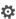 Inställningar-ikon