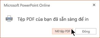 Tệp PDF của bạn đã sẵn sàng